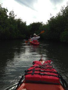Kayaking in Thousand Islands